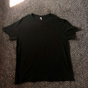 LULULEMON ALL YOURS BOYFRIEND TEE SZ 10 DARK OLIVE
